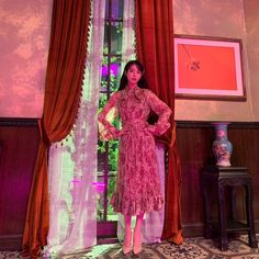 라디안 🎨 (@radian_iu) | Twitter Luna Fashion, Asian Fashion, Korean Actresses, Korean Beauty, Fashion Outfits, Womens Fashion, Stage Outfits, Classy Outfits, Ideias Fashion