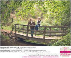 Featured Real Wedding: Nicole and Kevin is published in Real Weddings Magazine's Summer/Fall 2015 Issue! Vendors include: www.snowlinephotography.com, www.facebook.com/fauselranchplacerville, www.partyroyalrentals.com and www.reverendtan.com. For more photos and their full list of wedding vendors, visit: www.realweddingsmag.com/?p=51910
