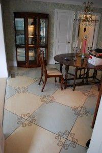 porch floor idea