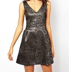 A Wear Jacquard Dress