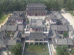 옛날 중국 부자의 집