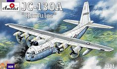 Lockheed JC-130A Hercules. A Model, 1/144, injection, No.1439. Price: 18,89 GBP.