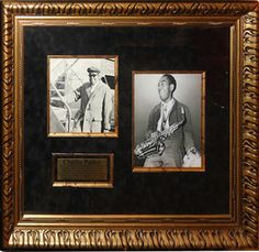 Antiquities LV - Charlie Parker Signed Photo, $2,995.00…