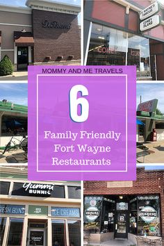 Top 6 Family Friendly Fort Wayne Restaurants - Mommy And Me Travels Travel With Kids, Family Travel, Wayne Family, Kid Friendly Restaurants, Travel Usa, Travel Tips, Canada Travel, Travel Ideas, Family Vacation Destinations