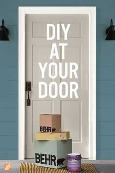 You get everything else delivered, why not paint? BEHR® Express delivers quality paint and supplies right to your doorstep. Click below to shop now.