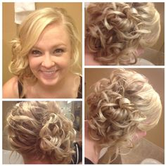 Simple, messy prom hair! #hair #IPAProm #Prom360