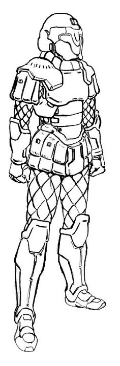 Achaean Hoplite Armour Lineart by RyujinDX on DeviantArt