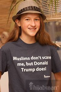 ORDER NOW: Seriously, a Donald Trump presidency? Now THAT is scary. And he just won Nevada! Send a message against hate with this shirt. Perfect as gifts. Available in sizes S-3XL. (Update: L left!).