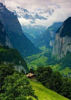 Interlaken, Switzerland ....favorite place in the entire world