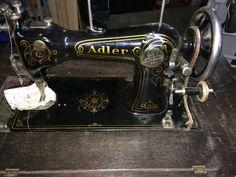 Adler, Nähmaschine, Dachbodenfund, Sammlerstück in in Ebhausen   eBay