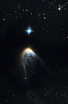 A molecular cloud near IRAS 14568-6304.  Credit (NASA/ESA/Luca Limatola)