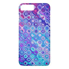 Tropical breeze liquid colors iPhone 8 plus/7 plus case - #chic gifts diy elegant gift ideas personalize