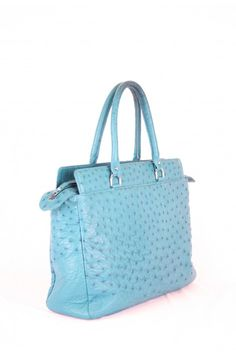 Handbag made off real ostrich leather, one off, made in the Netherlands, Bruijs Handcrafted Leatherware, www.bruijs.com