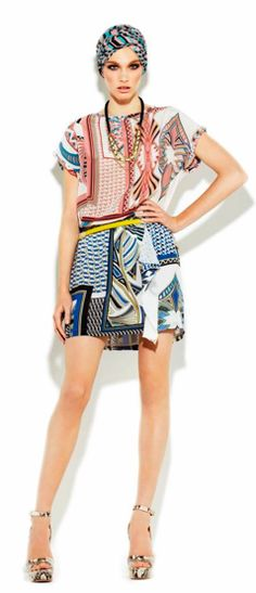 If you like prints this is a nice mix...Pinko Mix & Match print...saw it in Pinko palma