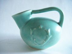 Rare 1930's Red Wing Pottery In Elusive Wreath by parkledge, $45.00