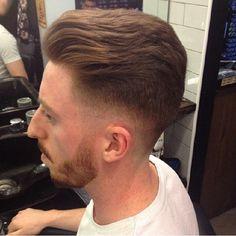 Subtle slick back with zero fade #barbersinctv #barbersupport #barbershop #barbershopconnect #barbers #barberlife #beards #modern #menshair #mensfashion #trend #trendy #fadegame #fade #fashion @cutandsewdublin     @jaysfades