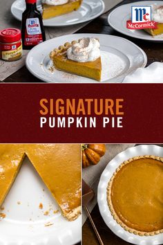 Signature Pumpkin Pie Keep it simple this holiday season with six ingredient easy pumpkin pie. This recipe takes less than an hour from start to finish and is a Thanksgiving table staple. Pro Tip: Top with vanilla whipped cream and more pumpkin pie spice. Diet Food To Lose Weight, Weight Loss Meals, Pound Cake Recipes, Cheesecake Recipes, Dessert Recipes, Manhattan Recipe, Halibut Recipes, Chicken Recipes, Bloody Mary Recipes