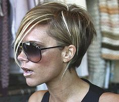 Brilliant Victoria Beckham Bobs And Victoria On Pinterest Hairstyles For Women Draintrainus