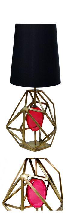 luxury table lamps designer table lamps high end table lamps custom. Black Bedroom Furniture Sets. Home Design Ideas