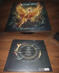 Xandria Newerworld S End Blue Vinyl 2014 Napalm