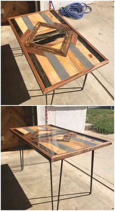 The most interesting or we would say attractive part of this splendid wood pallet table is its rustic designing on the top portion of table. It can be preferably be used as the coffee table or playing games too. For which purpose you will be using it for?