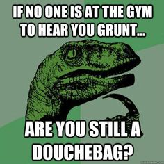 Grunting At The Gym