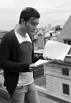 Ed Westwick...so gorgeous here.