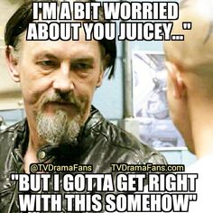 "Chibs gets ""right"" with Juice as Gemma watches..."