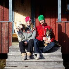 Workaway in Sweden. Help with Huskies on our farm located in Gargnäs, Västerbotten, in Swedish Lapland Sweden, Husky, Winter Hats, Hipster, Detail, Ideas, Style, Fashion, Swag