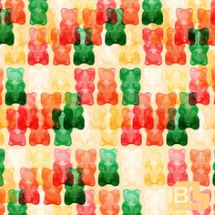 Gummi Bear digital pattern by Chad Mize for Bluelucy