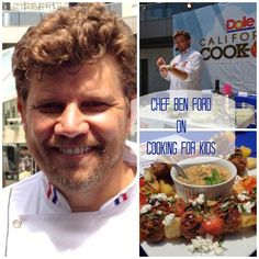 Celebrity Chef Ben Ford on Cooking for Kids