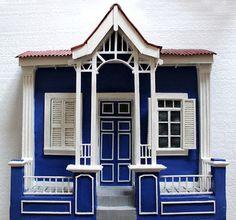 casa azul, la joya del puerto, inspirada en casa de valparaiso