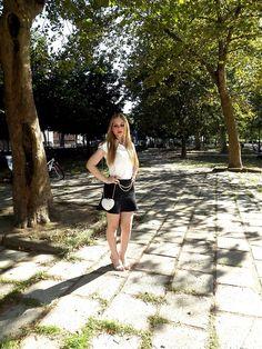 My Lovely World - Fashion Blog   Oviesse black skirt   http://mylovelyworld9.com