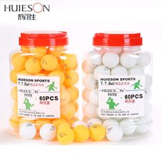 compare prices huieson 60pcsbarrel professional 3 star table tennis balls 40mm 2 9g ping pong ball #table #tennis #balls