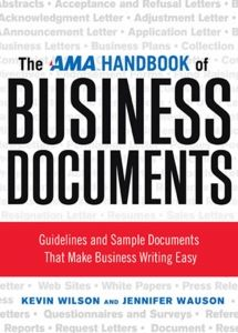 Zola Books | ebook | The AMA Handbook of Business Documents | Kevin Wilson & Jennifer Wauson | https://zolabooks.com/profile/american-management-association-bookstores
