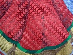 Stitches from Carolyn Hedge Baird needlepoint books