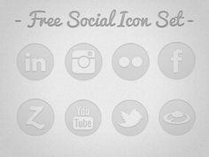 free social media icons - Social-icons #marketing