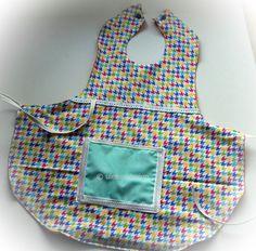 Schürzen - Kleinkinderschürze, Kochschürze, Baumwolle, V - ein Designerstück von ULeMo bei DaWanda