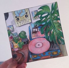 art sketchbook Ides pour un journal personnel LD Small Canvas Art, Mini Canvas Art, Aesthetic Painting, Aesthetic Art, Aesthetic Bedroom, Journal Aesthetic, Aesthetic Drawing, Kunst Inspo, Art Inspo