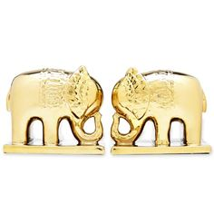 gold elephant bookends #decor