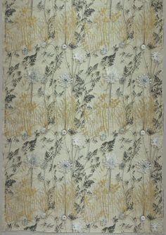 Savannah Grass, a printed silk textile by Vera Neumann, 1956.