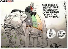 [CARTOON] Uncle Gweezy's Trunk Call Different Races, Illusions, Spiderman, Elephant, Product Launch, Superhero, South Africa, Hate, Cartoons