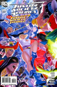 Justice Society of America (#20) - cover by Alex Ross