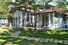 Satin Doll villa, love the louvred shutters