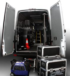 We Outfit A Completely Custom Mercedes Sprinter Van With The Latest Eco Friendly Lighting Gear