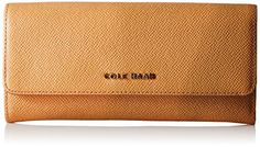 Cole Haan Emilia Flap Wallet PecanToasted Almond One Size >>> Details can be found by clicking on the image.