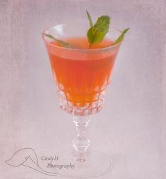 Kidman Cocktail: Strawberry, Rhubarb, dark rum