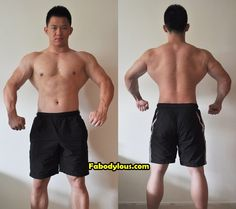 My progress as of 3rd October 2012.    #bodybuilding #bulking