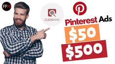 Turn $50 Into $500 With Pinterest Ads With This 1 Trick |  Make Money On...  #makeaday #twittermarketing #facebookmarketing #instagram #cpamarketing #affiliatemarketing #emailmarketing #fivefiguremarketing Facebook Marketing, Affiliate Marketing, Social Media Marketing, Make Money Online, How To Make Money, Free Training, Pinterest Marketing, Online Business, Men Casual