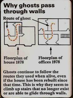 Why ghosts walk through walls... creepi, mind blown, ghost pass, funni, interest, ghosts, random stuff, wall, thing